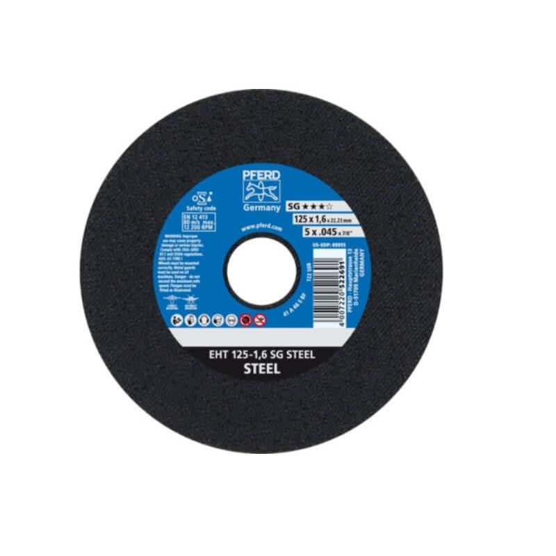 Ø 125x1,6 mm pjovimo diskas PFERD SG
