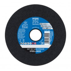 Pjovimo diskas PFERD EHT Ø125-1,6 A 46 R SG-INOX/22,23
