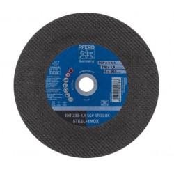 Nerūdijančio plieno pjovimo diskas Ø230 1,9x22,23mm EHT A46 S SGP-INOX PFERD