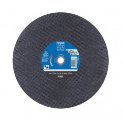 100T Ø350-3.8 A24Q SG RAIL atpjovimo diskas 25,4 PFERD
