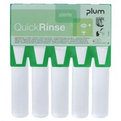 Akių plovimo ampulių papildymas PLUM QuickRinse, 5x20ml