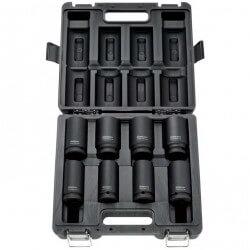 """Smūginių galvučių rinkinys RODCRAFT RS618D 3/4"""" 26-38mm"""
