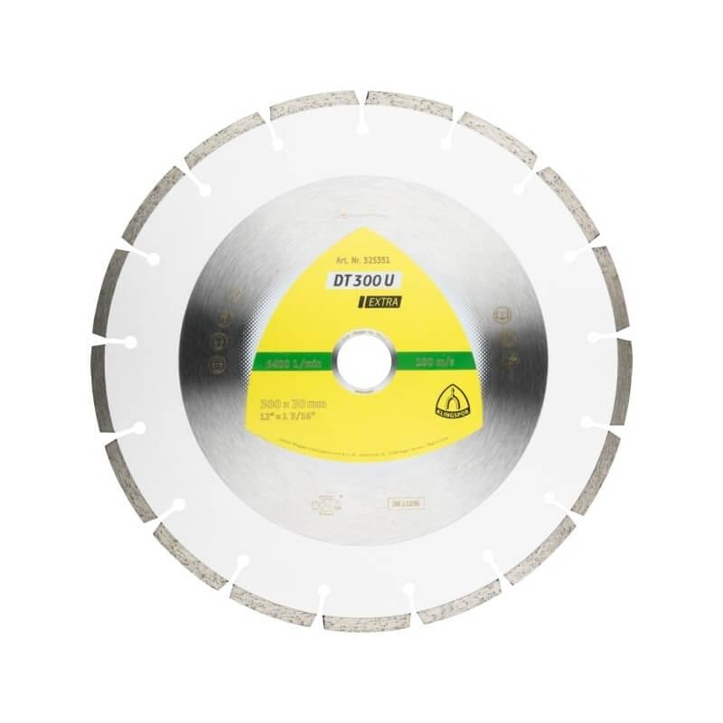 Deimantinis pjovimo diskas KLINGSPOR DT 300 U Extra 350mm