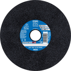 Nerūd. plieno pjovimo diskas PFERD EHT125-1,6mm SG INOX