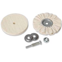 Poliravimo diskų rinkinys žalvariui, plastikui, lakui OSBORN