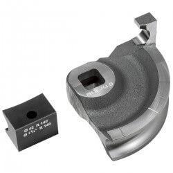 Lenkimo segmentas ir šliaužiklis REMS 50 mm