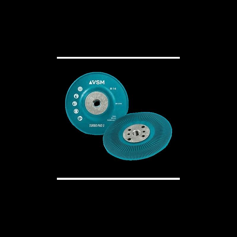 Kietas padas fibro diskams VSM ZFT3 125xM14