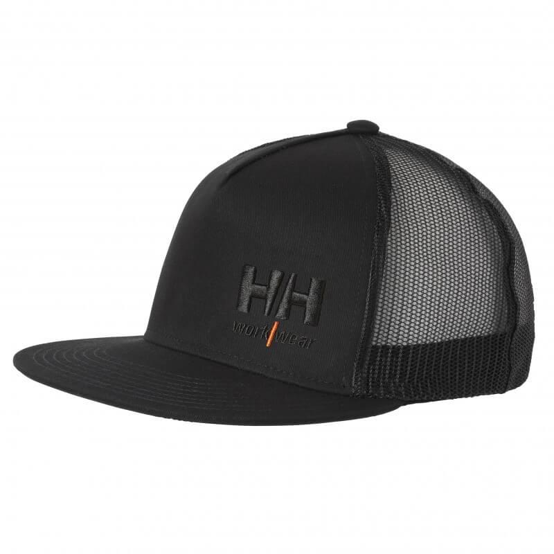 Kepurė su snapeliu HELLY HANSEN Kensington Flat Trucker, juoda