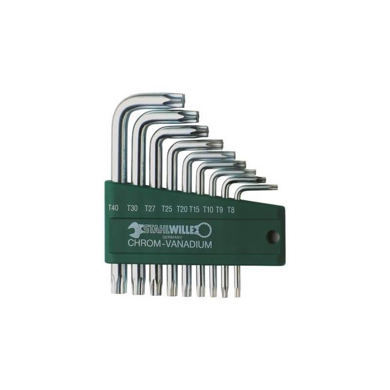 Šešiakampių TORX raktų rinkinys STAHLWILLE 10766/9