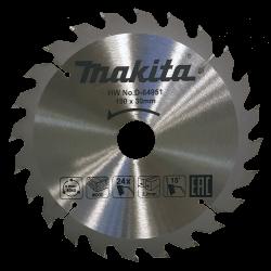 Pjovimo diskas medžiui MAKITA 190x30mm 24T