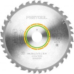 Universalus pjūklo diskas FESTOOL 216x2,3x30 W36