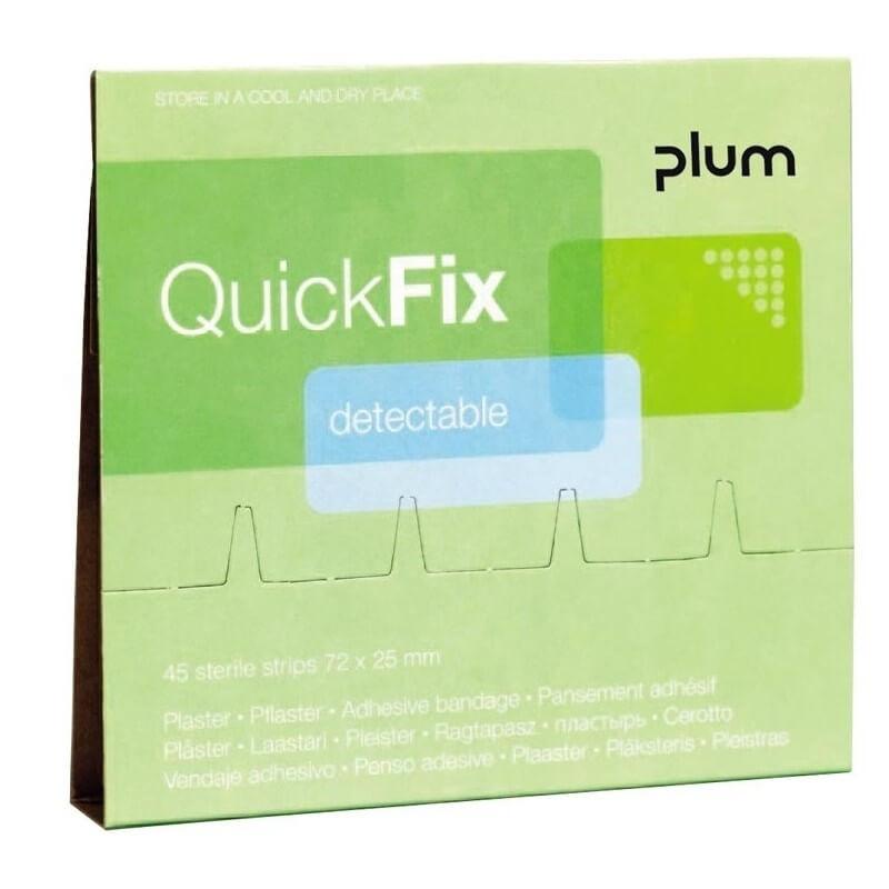 Pleistrai su metalo juostele PLUM QuickFix, 45vnt.