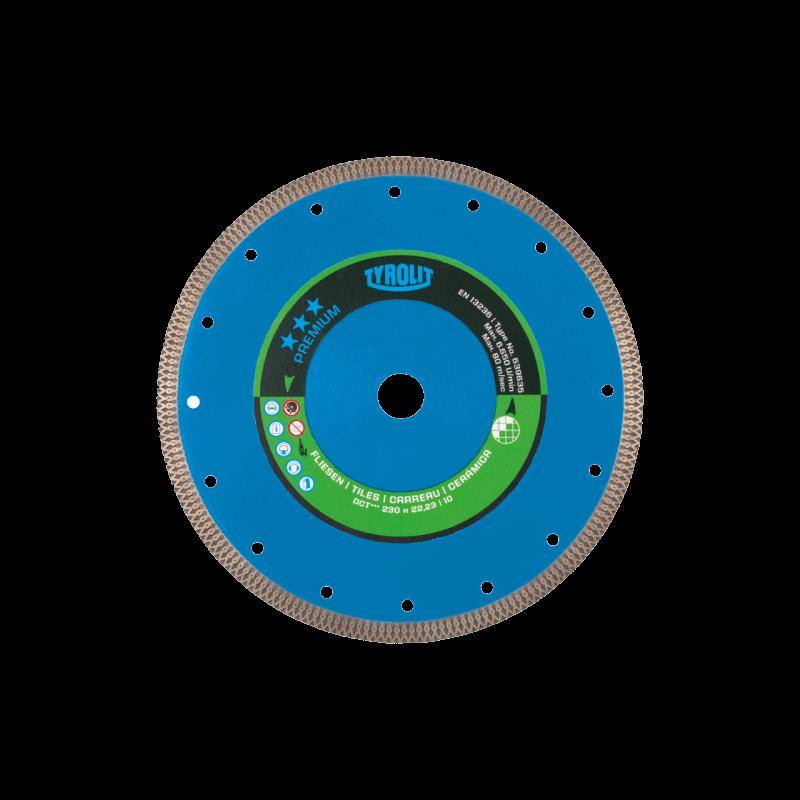 Deimantinis pjovimo diskas keramikai TYROLIT Premium 105x1,2x20mm