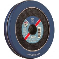 Metalo pjovimo diskas PFERD EHT 125x1,6mm A 60 P 1,6, Box-9vnt.