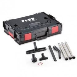 Siurbimo antgalių komplektas su lagaminu FLEX CLE 32 AS + L-Boxx