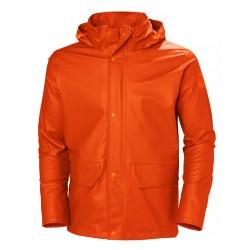 Vandeniui atspari striukė HELLY HANSEN Gale Rain, oranžinė