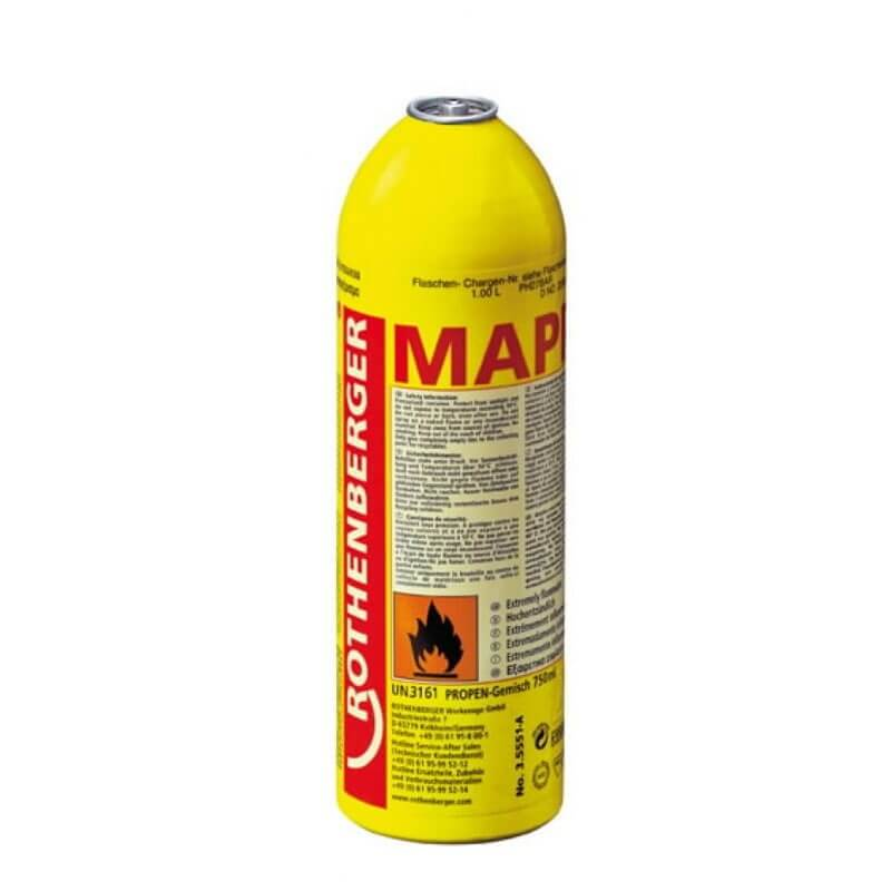 MAPP dujos 750 ml ROTHENBERGER