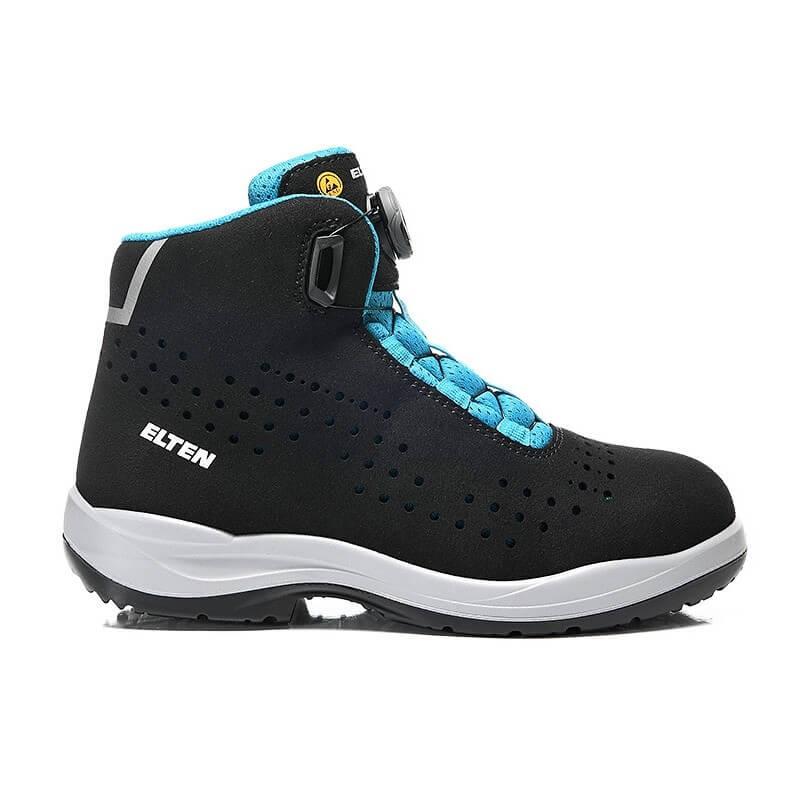 Moteriški batai ELTEN Impulse BOA Aqua S1P SRC, juodi