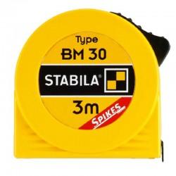 Ruletė su langeliu 3m STABILA BM30W