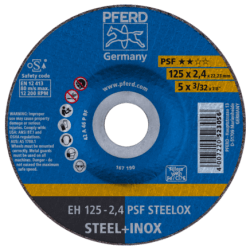 Pjovimo diskas PFERD EH125-3,2 A46 P PSF-INOX