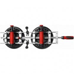 Plokščių sutempimo įrankis su siurbtukais BESSEY PS 130