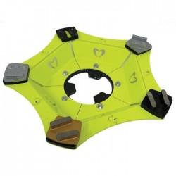 Šlifavimo diskas WOLFF Samba Ninja su BT K20 segmentais