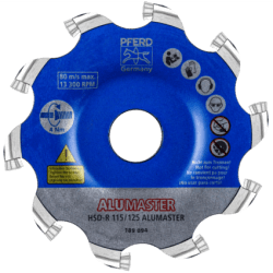 Šlifavimo diskas PFERD Alumaster HSD-R 115/125
