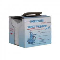 Popierinės servetėlės NORDVLIES Wipex-Fullpower To Go, 100vnt.