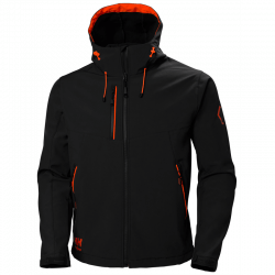 Striukė HELLY HANSEN Chelsea Evolution Softshell, juoda