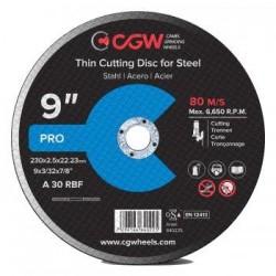 Pjovimo diskas 230x2,5 A30 T-1 RBF CGW
