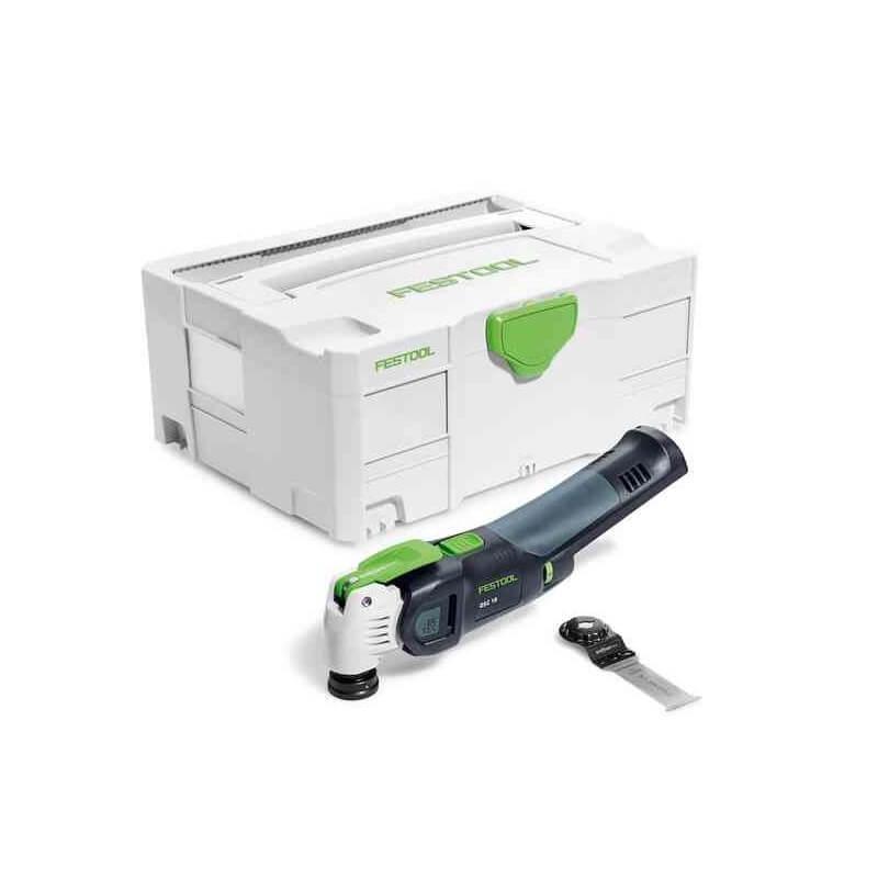 Akumuliat. daugiafunkcis įrankis FESTOOL Vecturo OSC 18 Li E-Basic