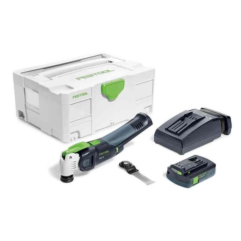Akum. daugiafunkcis įrankis FESTOOL Vecturo OSC 18 Li 3,1 E-Compact
