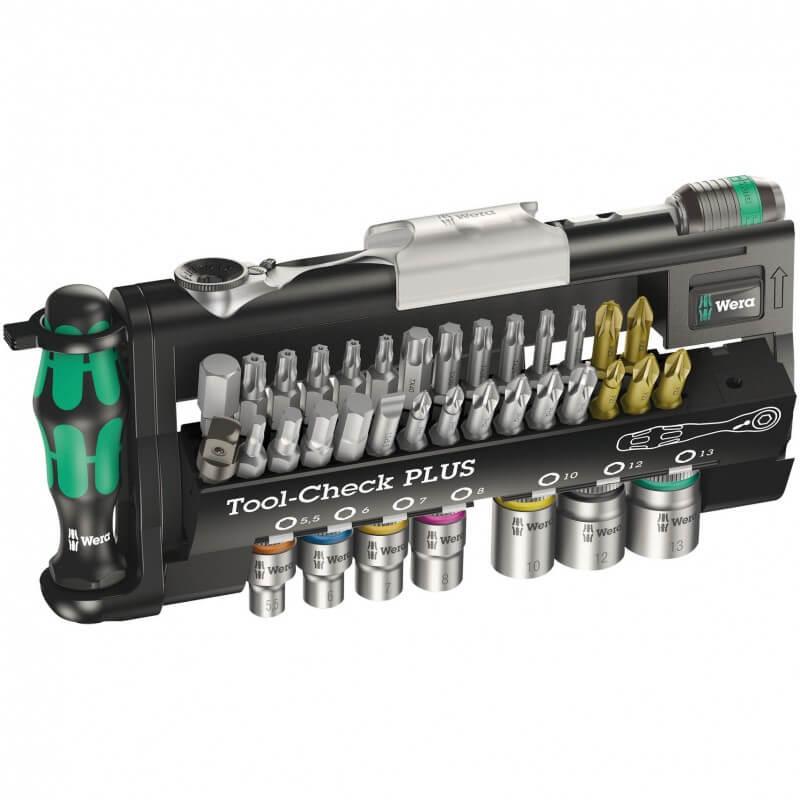 39-ių dalių įrankių rinkinys WERA Tool-Check PLUS