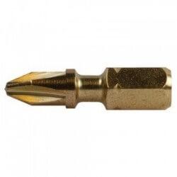 2 vnt. Torsion sukimo antgalių PH 2-25mm MAKITA B-28503