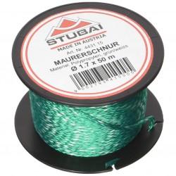 Statybinė virvutė STUBAI 1,7mm, žalia