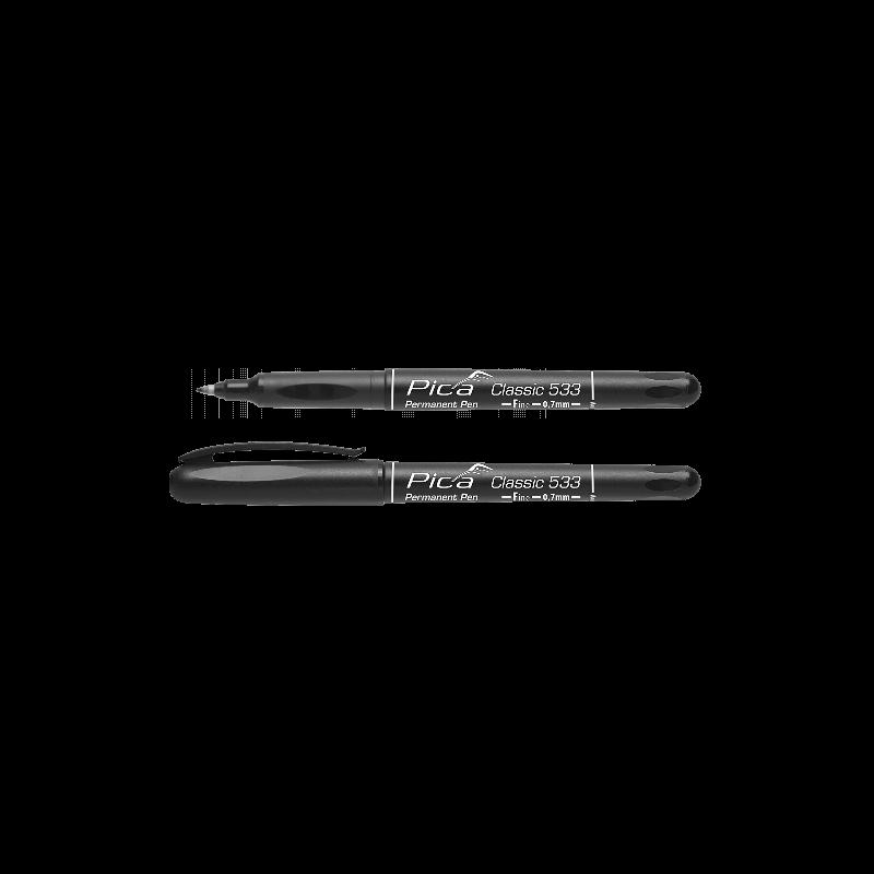 Permanentinis rašiklis PICA Classic 533, 7mm juodas