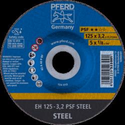 Metalo pjovimo diskas PFERD EH125-3,2mm PSF Steel
