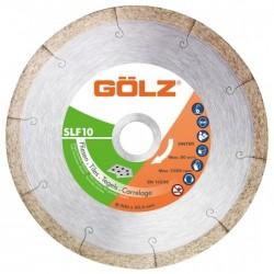 Deimantinis diskas keramikai GOLZ SLF10 Ø125x22,2mm