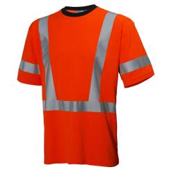 Marškinėliai HELLY HANSEN Esbjerg HH-Cool, oranžiniai, XL dydis