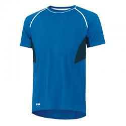 Marškinėliai Lifa-Cool Viborg T HELLY HANSEN mėlyni