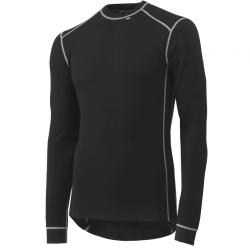 Marškinėliai Lifa-Warm ROSKILDE CREWNECK HELLY HANSEN, juodi