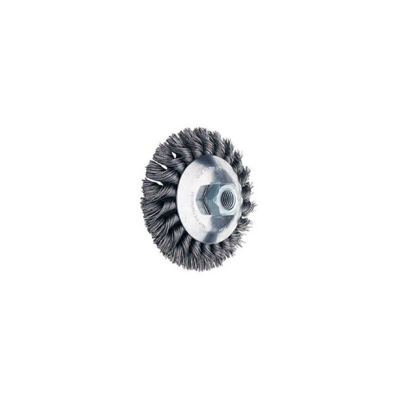 Metalinis šepetys 115x15mm PFERD KBG 0,5 M14