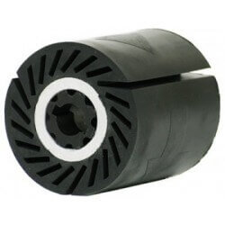 Išsiplečiantis guminis ratukas 90x100mm GERD POLY-PTX