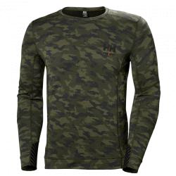 Apatiniai marškinėliai HELLY HANSEN Lifa Merino, kamufliažiniai
