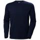 Marškinėliai ilgomis rankovėmis HELLY HANSEN Manchester, mėlyni