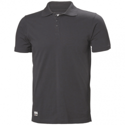 Marškinėliai HELLY HANSEN Manchester Polo, juodi