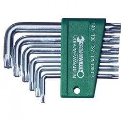 Šešiakampių TORX raktų rinkinys 10766 STAHLWILLE