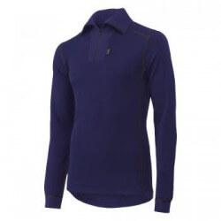 Marškinėliai Lifa-Warm ROSKILDE POLO ZIP HELLY HANSEN, tamsiai mėlyni