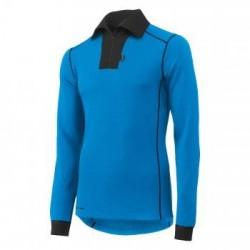 Marškinėliai Lifa-Warm ROSKILDE POLO ZIP HELLY HANSEN, mėlyni, XL