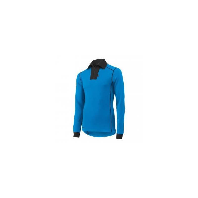 Marškinėliai Lifa-Warm ROSKILDE POLO ZIP HELLY HANSEN, mėlyni